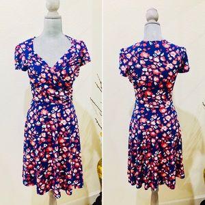LEOTA floral print summer dress S